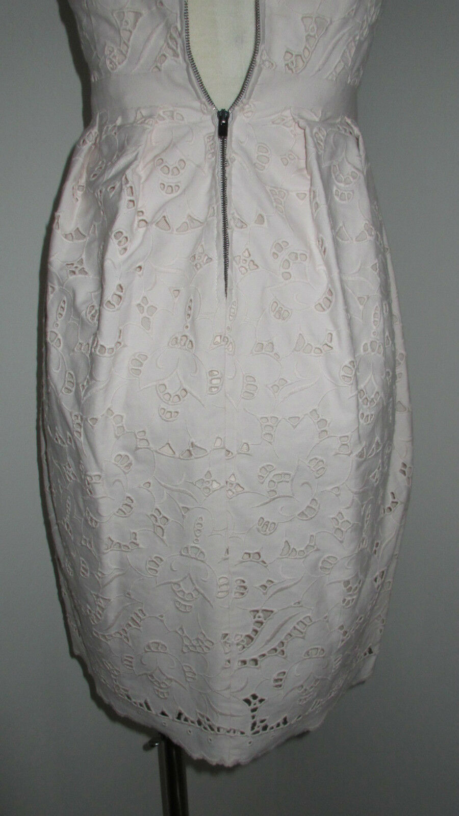 STELLA MCCARTNEY CREAM DEWBERRY DEWBERRY DEWBERRY COTTON LACE DRESS It 38 2 b4149e