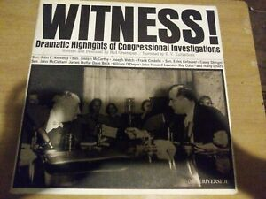 Witness-dramatic-highlights-of-congressional-investigations-33-Rpm-Record-12-034