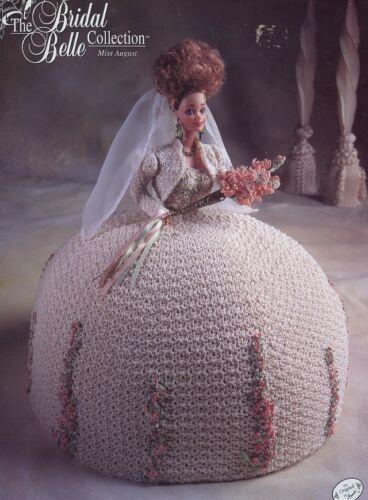 Miss August Bridal Belle Dress for Barbie Crochet Pattern/Instructions Leaflet