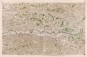 MAP-CASSINI-FRANCE-18TH-CENTURY-BERGERAC-PERIGORD-REPLICA-POSTER-PRINT-PAM0758
