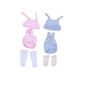 2 Set Lovely Doll Sleeveless Rompers Sets For 10 11 Baby Doll Clothes Ebay