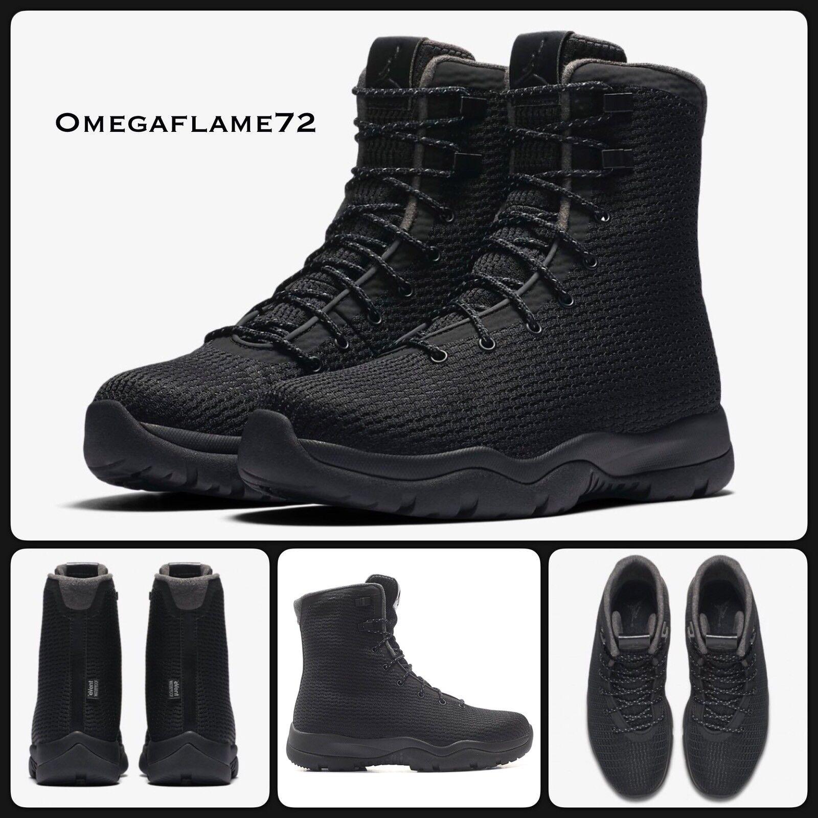 Nike Air Jordan Future Boot Waterproof, 854554-002, UK 8, EU US 42.5, US EU 9, Noir caed36