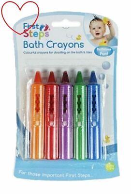 Bébé, Puériculture Apprehensive Bain De Bébé Crayons De Couleur Lavable Amusant Jouets Dessins
