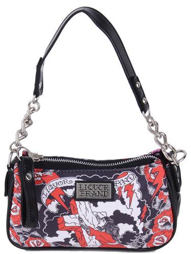 TASCHE Rockabilly Liquor Brand ROCKS OF ACES Chain Bag