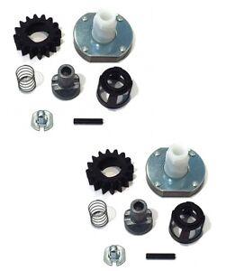 (2) Starter Motor Drive Kits For Briggs Stratton Stens 150-118 150-114 7-03443 Riche En Splendeur PoéTique Et Picturale