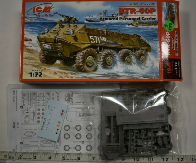 ICM 1//72 BTR-60P APC # 72901