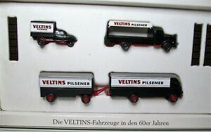 Wiking-Set-1-87-Veltins-Modellset-60er-Jahre-OVP-Goliath-Mercedes-LP-LKW-L-3500