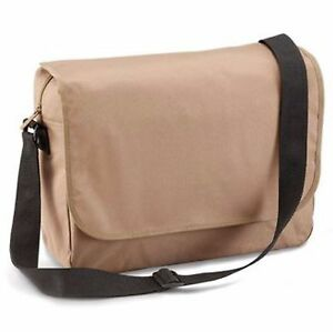 Quadra QD514 Messenger Bag in fashionable Taupe (Biege)