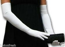 Ladies Women 1 Pair Hot Summer Full Hand Gloves Sleeves Bike Activa White Colour