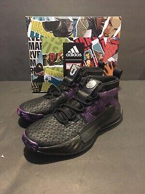 Adidas Dame 5 J Kids Size 5 Marvel