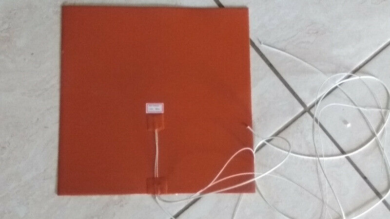Silicone heater pad 220v 300x300mm