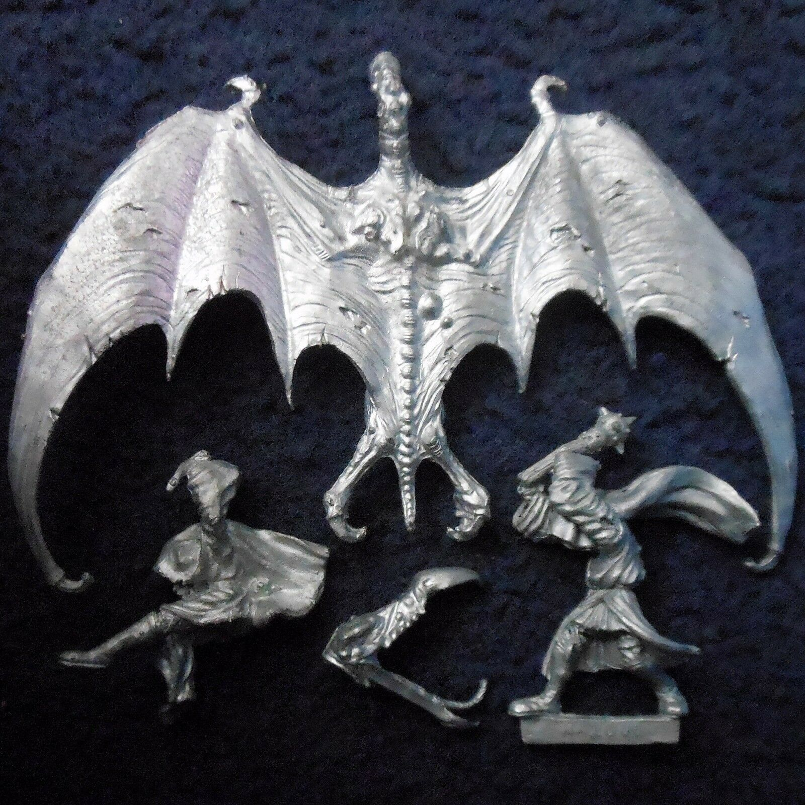 1985 Undead BME2 Nazgul on Winged Beast Lord of the Rings Citadel LOTR Wraith GW