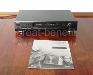 TECHNICS-ST-GT650-Stereo-Tuner-inkl-original-Bedienungsanleitung