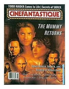 Cinefantastique Vol 33 3 Vg The Mummy Returns 2001 Magazine Ebay