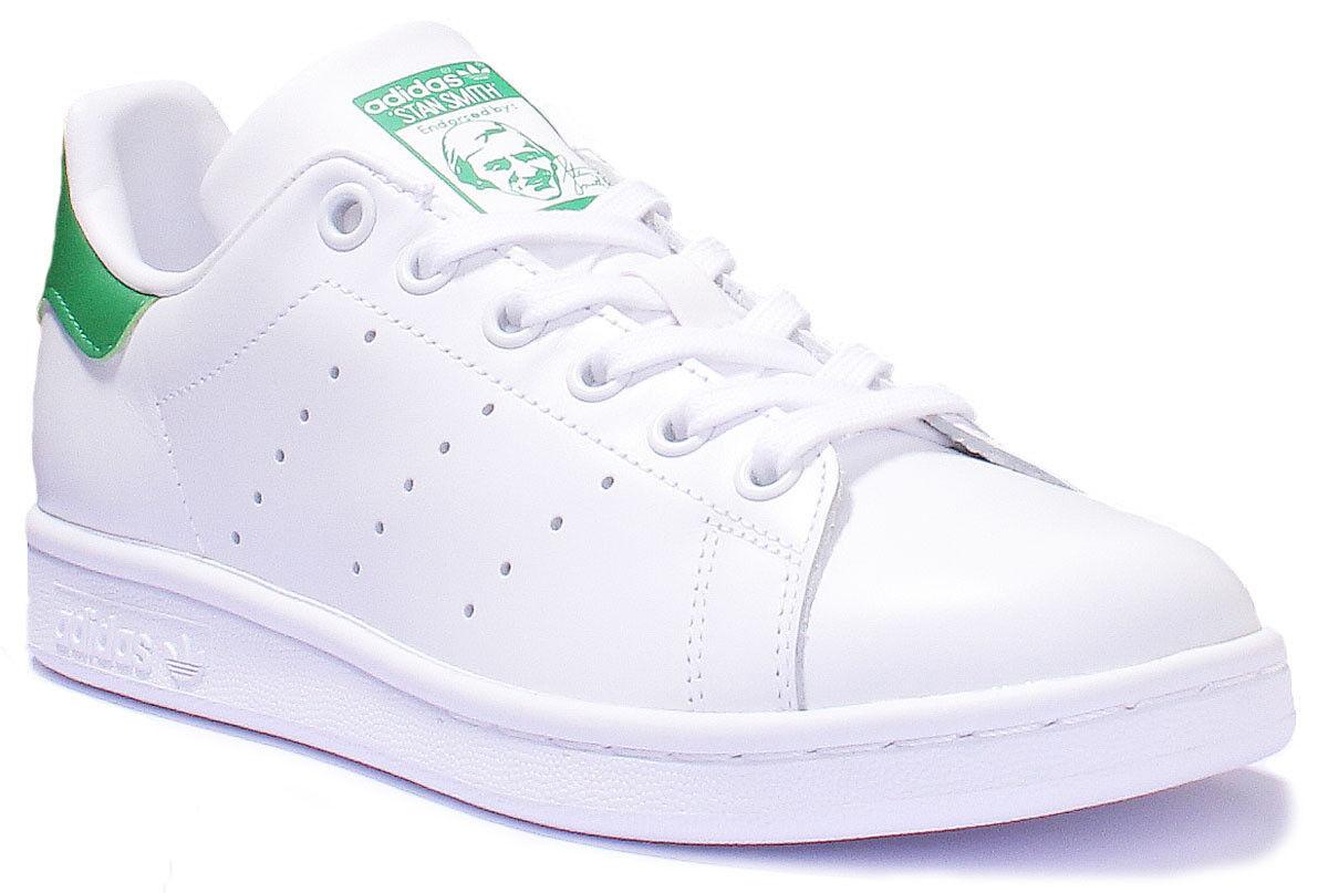Adidas stan smith smith stan gli uomini di matt bianco verde formatori 7 - 13 36bc71