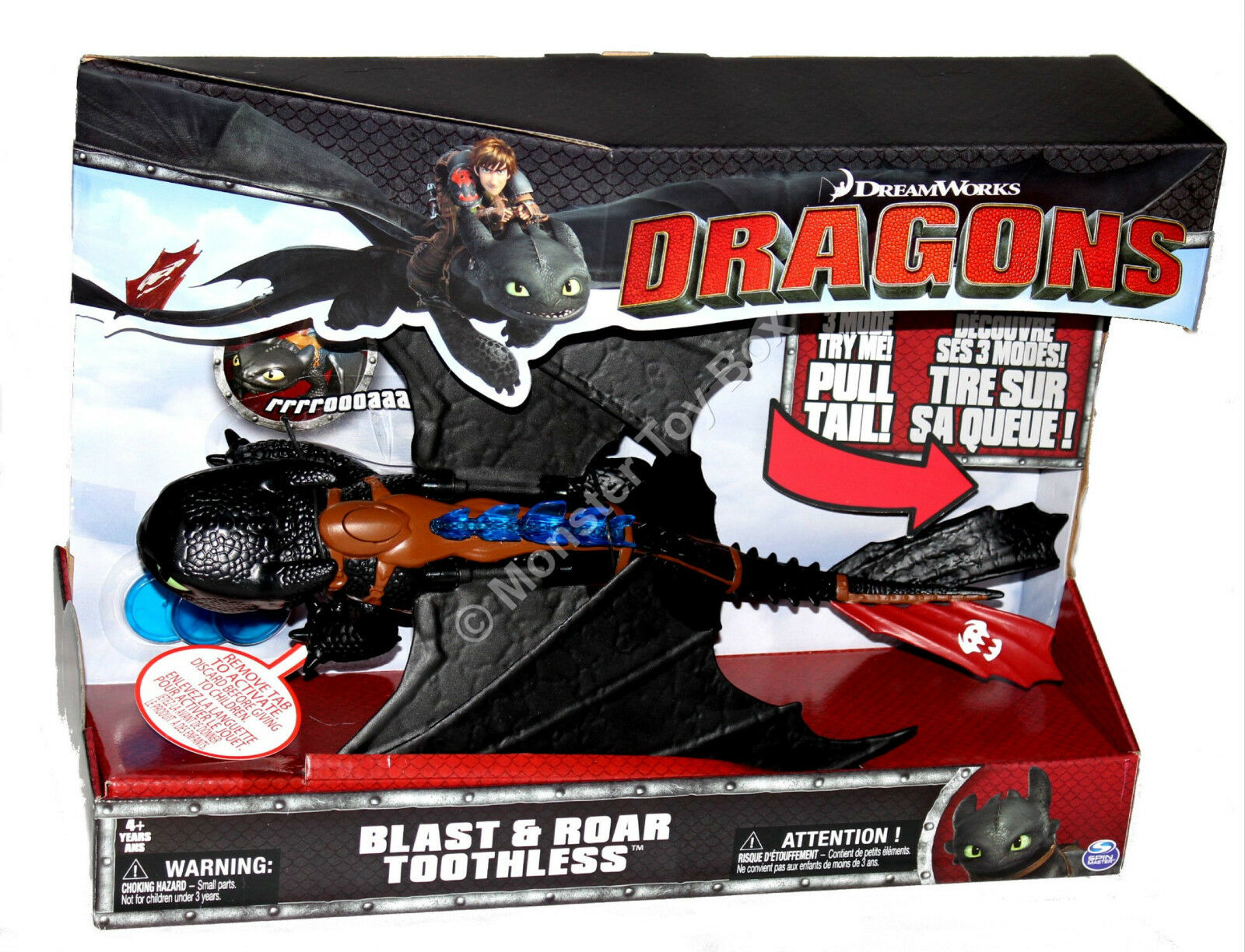 Blast and Roar Toothless Dreamworks Dreamworks Dreamworks How to Train Your Dragon 2 US Seller 89a51a
