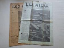 AILES 1934 699 POTEZ 56 AMIOT 143 M POU DU CIEL LONDON MELBOURNE CHARTRES BLOCH