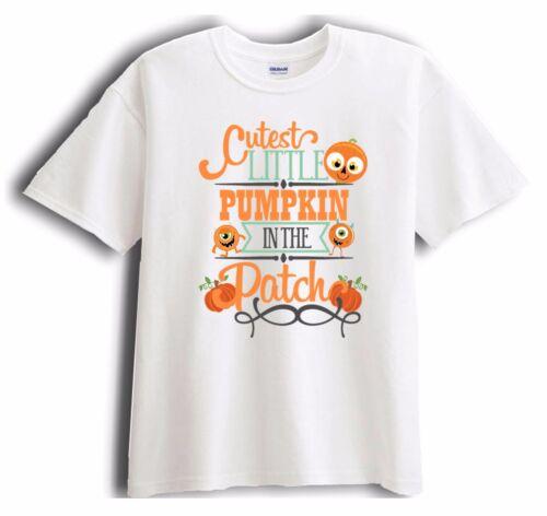 Cutest Little Pumpkin in the Patch Shirt