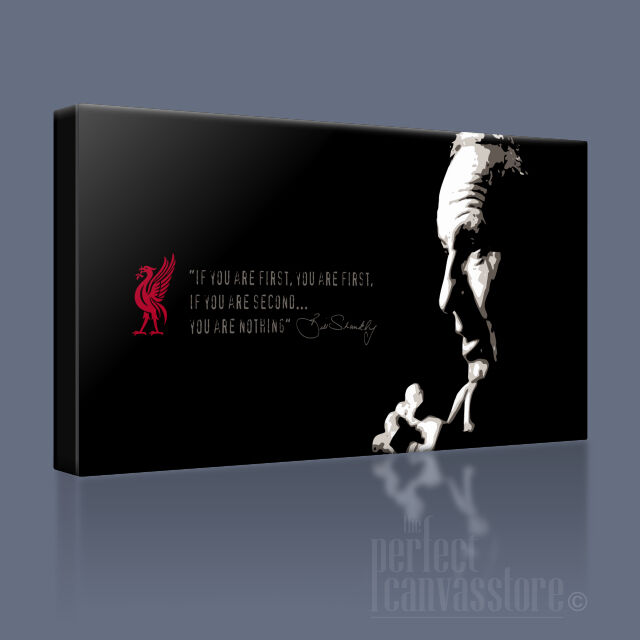 BILL SHANKLY LEGEND CLASSIC QUOTE ICONIC CANVAS ART PRINT PICTURE Art Williams
