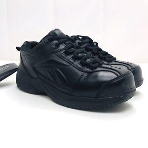 4283a32724dc Details about Reebok Shoes Men s 6.5 Black RB1860 Jorie EH Composite Toe  Shoes work sneakers