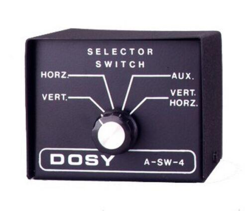 Dosy SW-4 1,000 Watt Antenna Selector Switch FASTEST SHIPPING