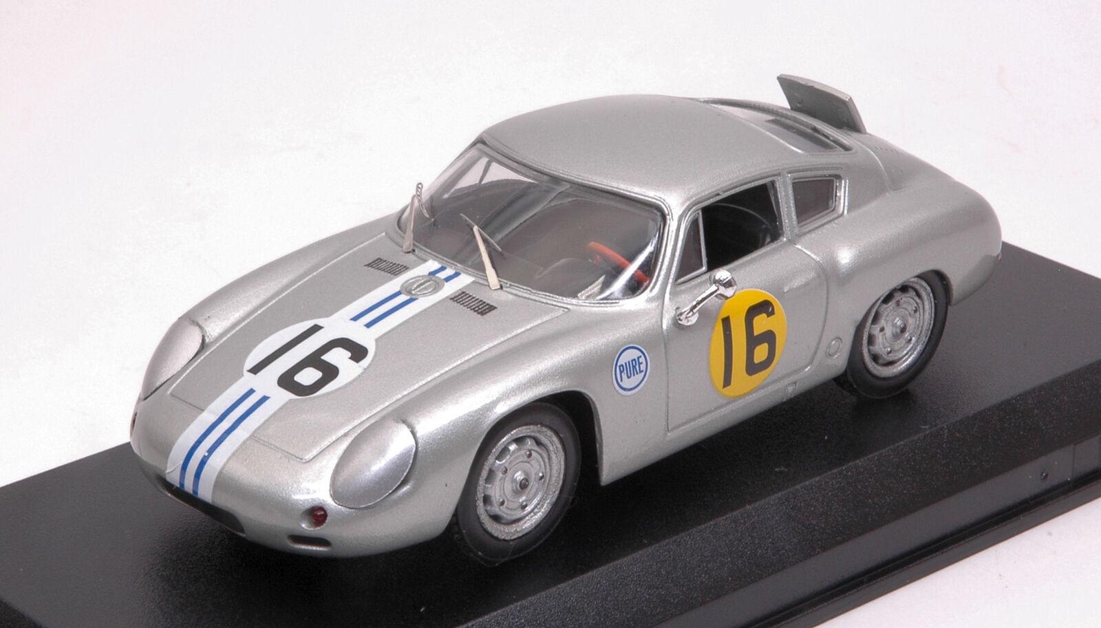 Porsche 356 B Abarth Abarth Abarth  16 Winner classe 3 H Daytona 1963 C. Cassel 1 43 modello 20955a