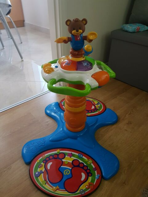 VTech Sit To Stand Tower Baby Toddler Dancing Toy Playset Activity Centre Music