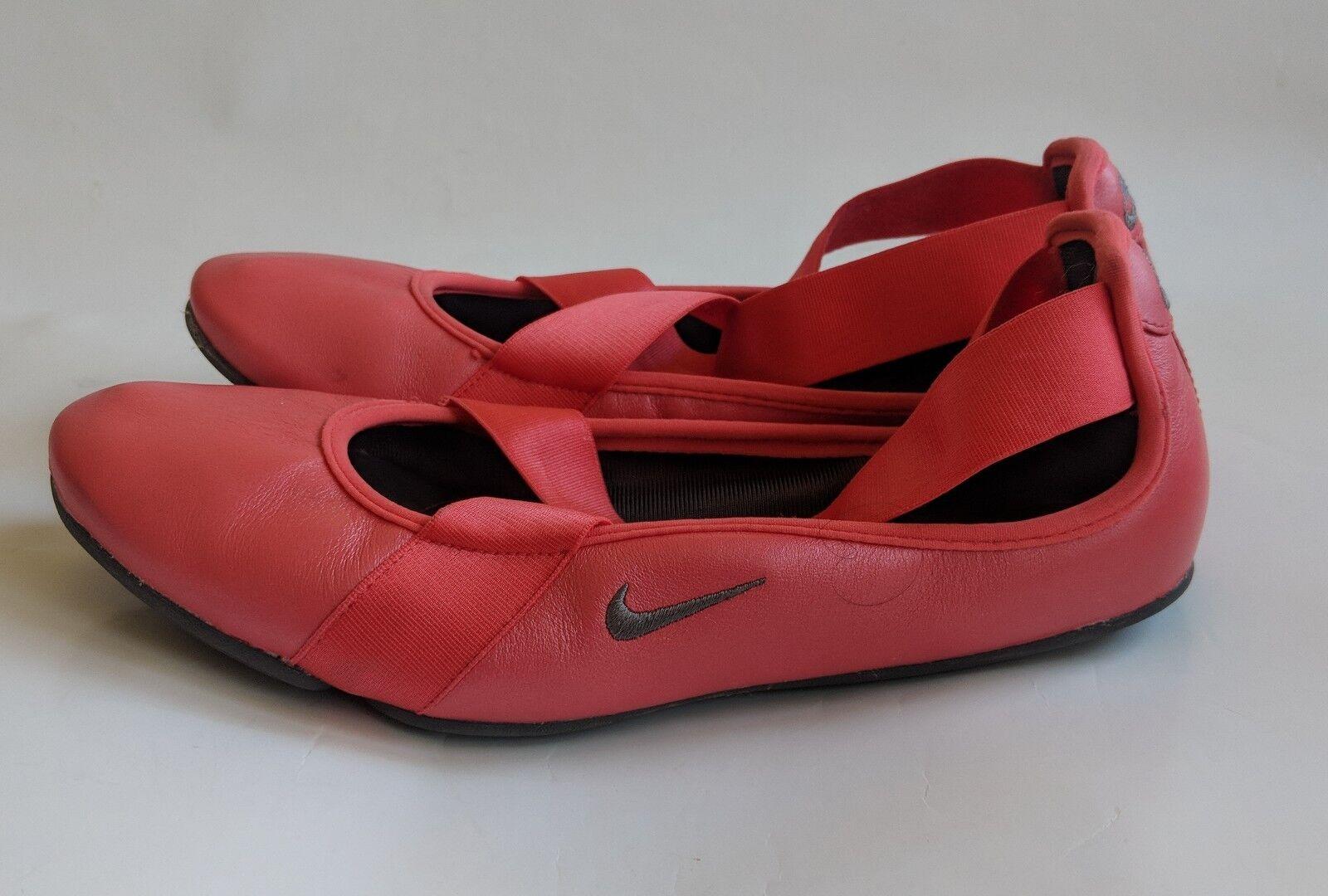 Womens 2010 Nike Le Titia Ballet Cushion Casual Flats shoes   Dark Pink   Size 6