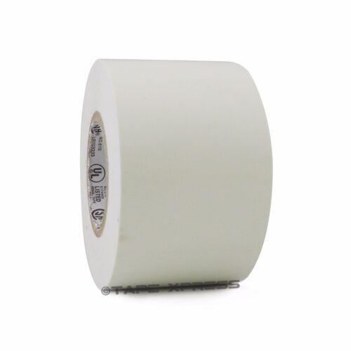 "1 Roll White Vinyl PVC Electrical Tape 2/"" x 66/' Flame Retardant Free Shipping"