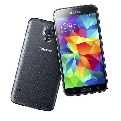 "Samsung Galaxy S5 schwarz 16GB LTE Android Smartphone 5,1"" Display ohne Simlock"