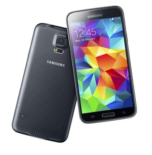 """1 von 1 - Samsung Galaxy S5 schwarz 16GB LTE Android Smartphone 5,1"""" Display ohne Simlock"""