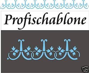 Schablone wandschablone schablonenfries malerschablonen deko r misch antik ebay - Schablone wandmalerei ...
