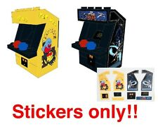 Custom stickers for Pac Man and Star Wars Arcade Machine 10243 10232 vending