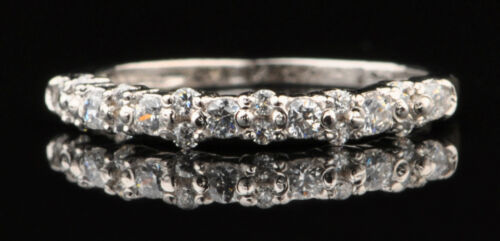 0.50Kt 585er Weiß gold runden Form Wunderbar Solitär Verlobung Ring