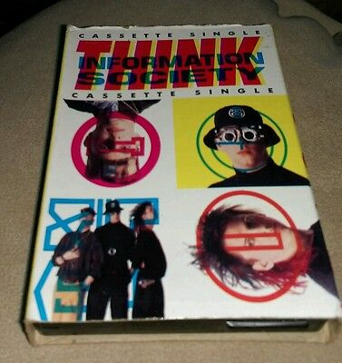 Cassette single cassingle Information Society Think Hack