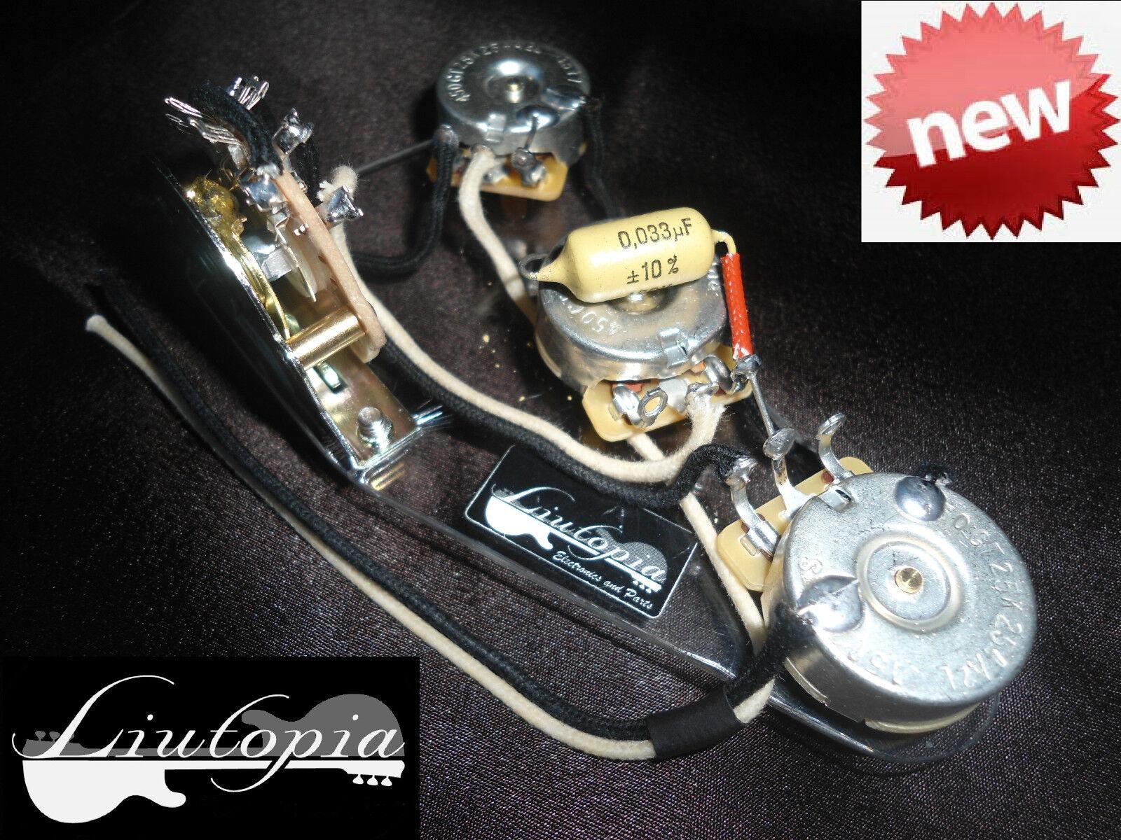 PER FENDER STRATOCASTER STRATOCASTER STRATOCASTER CABLAGGIO - CON CONDENSATORE 0.033uf MULLARD  MUSTARD  -  venta mundialmente famosa en línea