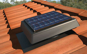 HandiLite-SV150-SOLAR-POWERED-ROOF-VENT-ventilation-attic-exhaust-FAN