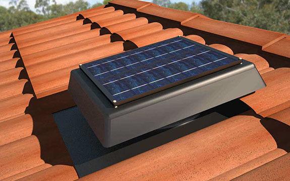 HandiLite SV150 SOLAR POWERED ROOF VENT ventilation attic exhaust FAN