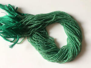 5-Strands-2mm-Faceted-Natural-Green-Onyx-Gemstones-Rondelles-13-Inches-GDS526-1
