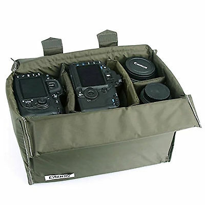 Insert Partition DIY Padded Camera Bags Case For Nikon D3400 D7500