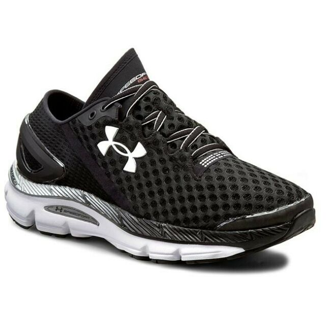 brand new 23ff0 62b1e Under Armour Speedform Gemini 2 Mens Black Running Road Sports Shoes  Trainers 10