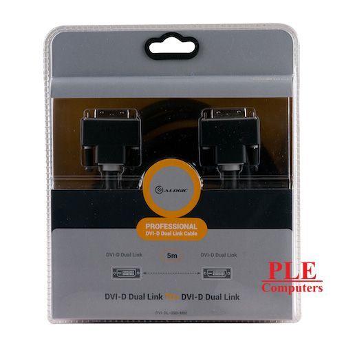 ALOGIC DVI-D Dual Link 5m Digital Video Cable[DVI-DL-05B-MM]