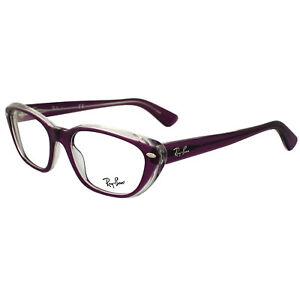 63ef46dda5f9 Image is loading Ray-Ban-Glasses-Frames-5242-5254-Transparent-Pink-
