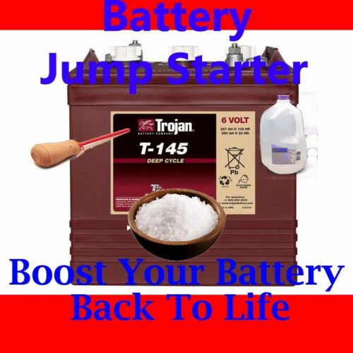 Battery Jump Starter Treatment