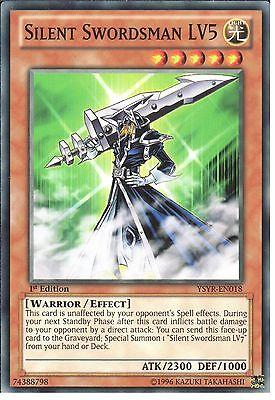YU-GI-OH: SILENT SWORDSMAN LV5 - YSYR-EN018 - 1st EDITION