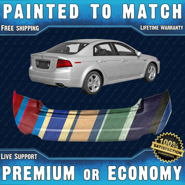 NEW Painted To Match Rear Bumper Cover Fascia For 2004
