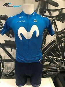 Ale Cycling Short Sleeve Jersey /& Bib Short PR-R Movistar Team Mans|AUTHENTIC