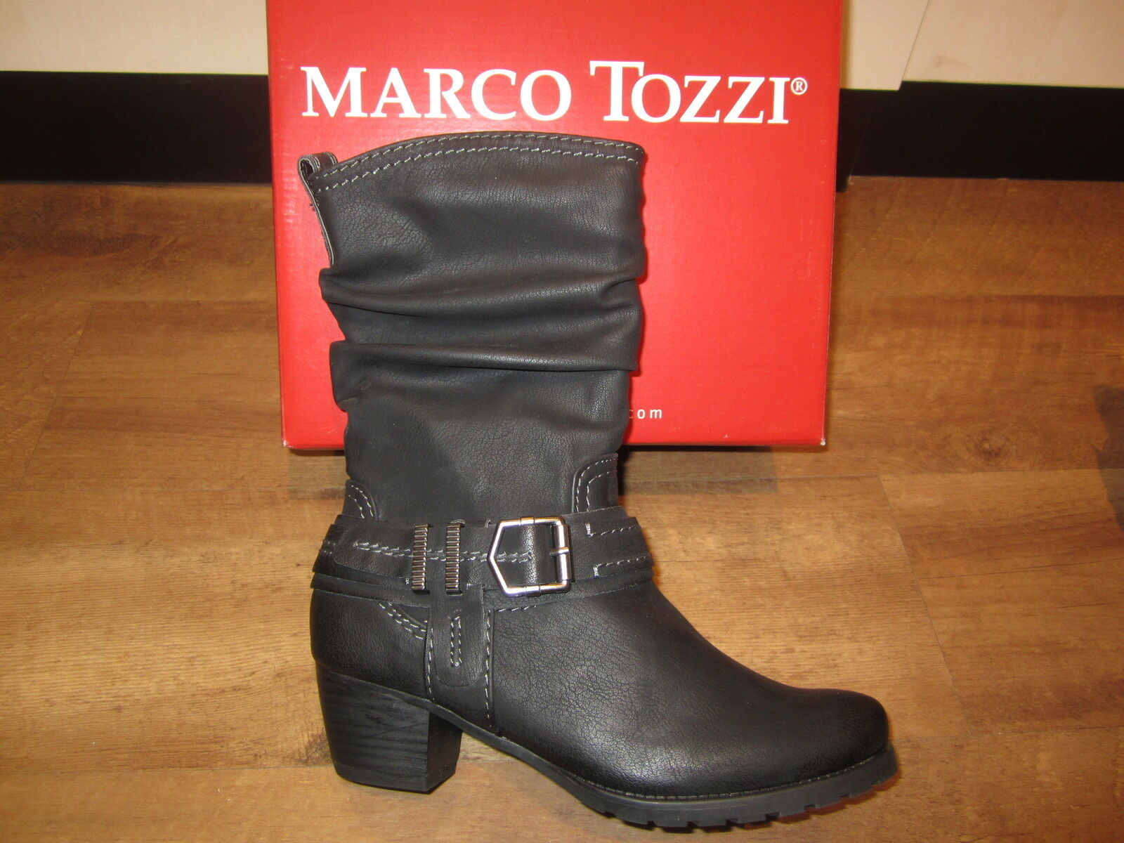 Marco Tozzi Women's Boots, Ankle Boots, Black, Boots New