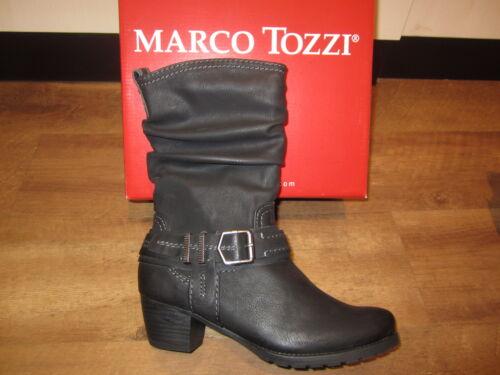 Femme Marco Neuf Pour Noir Tozzi Bottines Bottes Bqt1xq