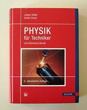 Physik für Techniker und technische Berufe von Günter Simon und Jürgen Zeitler (